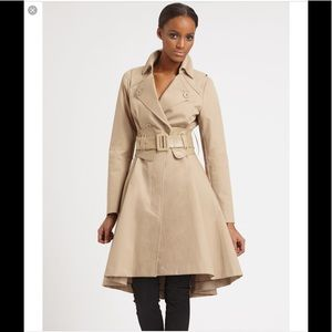 Mackage Pleated Trench with Removable Belt